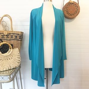 Investments Open Draped Cardigan